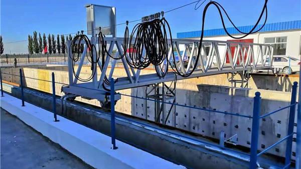 山西大同污水处理厂之中心传动刮泥机项目案例
