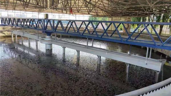 山西榆社之周边传动刮泥机项目案例