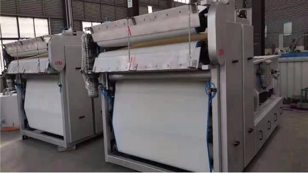 中心传动刮泥机厂家襄绿环保带你了解带式压滤机的操作维护