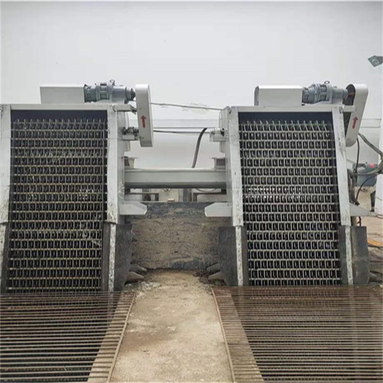 宁县污水处理厂,周边传动刮泥机现场