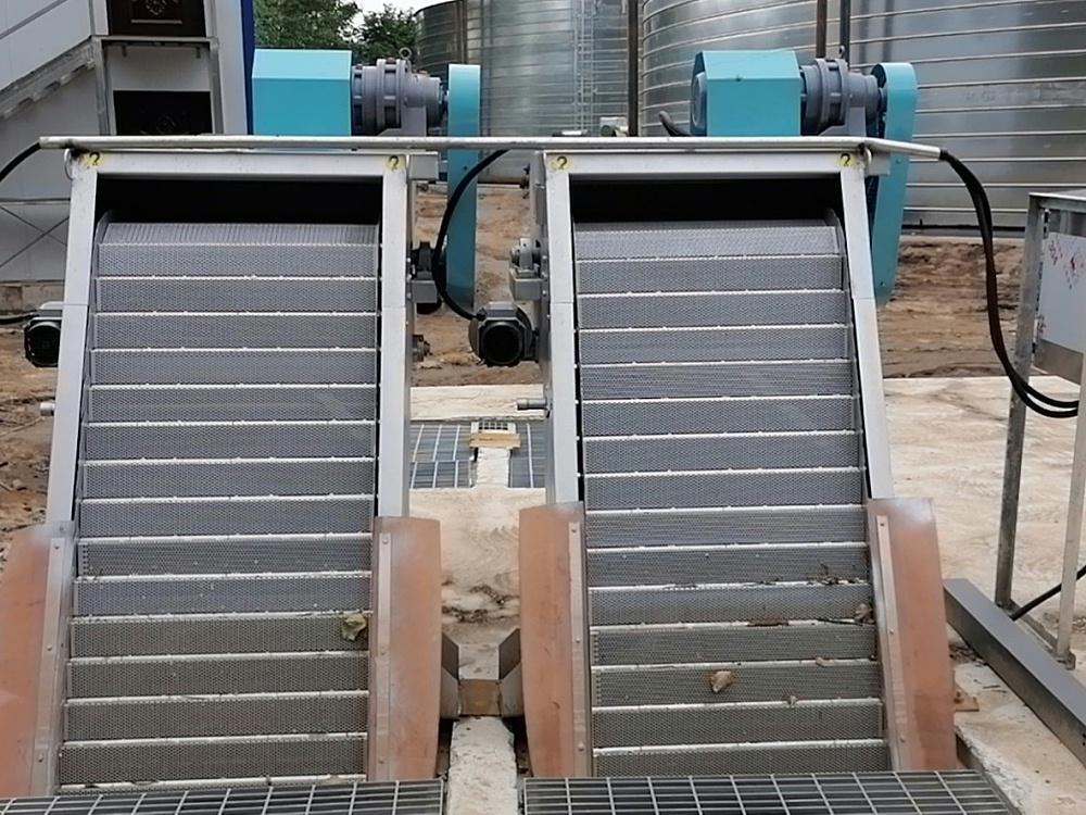 网板机械格栅除污机