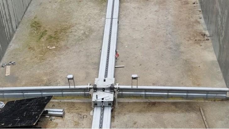 襄绿环保单轨式链条刮泥机